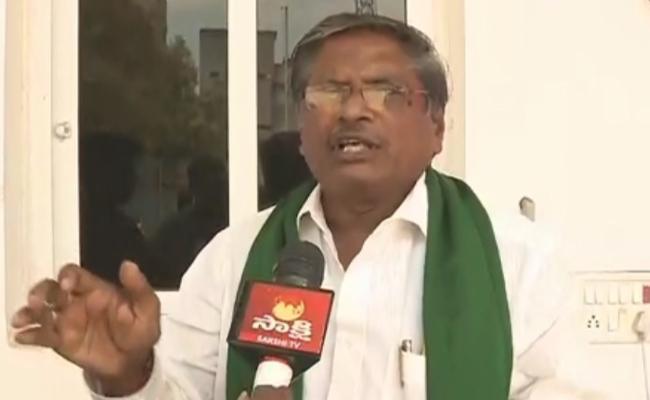 YSRCP Leader MVS Nagi Reddy Complains To AP CEO Gopal Krishna Dwivedi In Amaravati - Sakshi