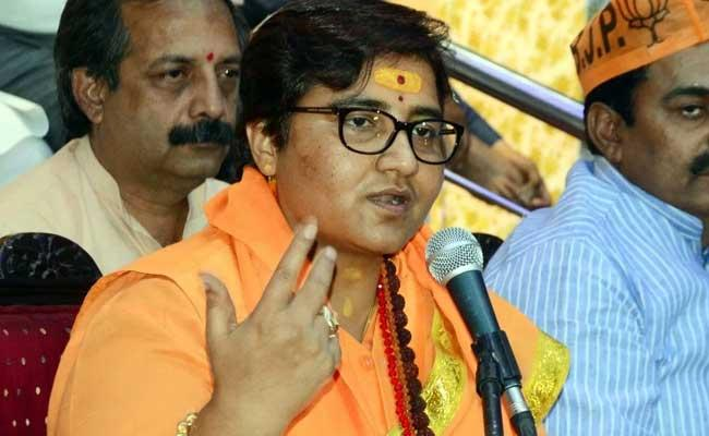 BJP Bhopal Candidate Sadhvi Pragya Singh Controversial Comments - Sakshi