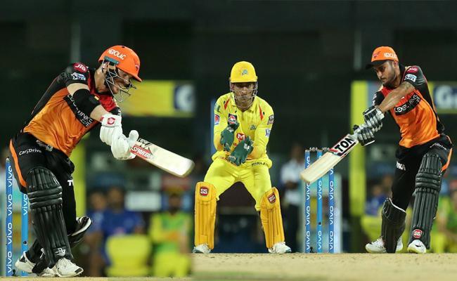 SRH Set Target of 176 Runs Against CSK - Sakshi