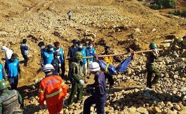 50 Feared killed in Landslide at Myanmar - Sakshi