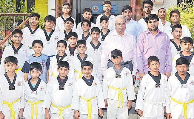 Telangana Taekwondo Team Announced - Sakshi