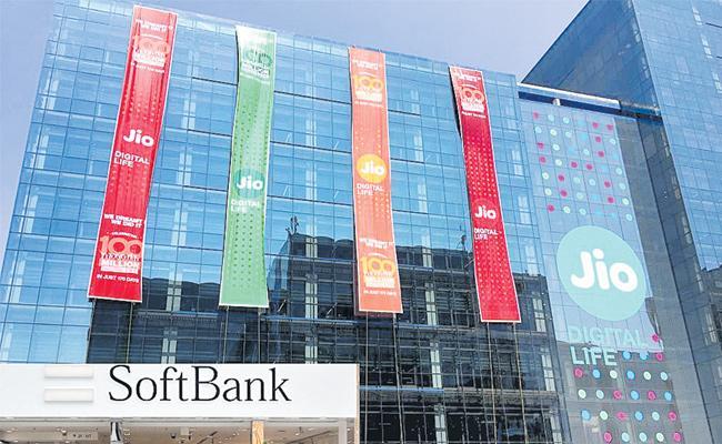 Softbank plans to invest in Reliance Jio as Mukesh Ambani deleverages business - Sakshi