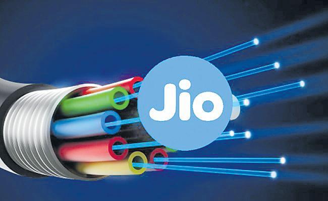 Jio GigaFiber to offer broadband, landline, TV combo for Rs 600 a month - Sakshi