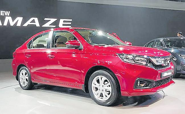 Honda Cars India launches new Amaze variant at Rs 8.56 lakh - Sakshi