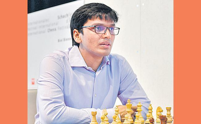 Fourth consecutive win in Harikrishna account - Sakshi