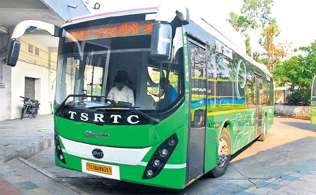 TS RTC Loss With AC Bus Services in Hyderabad - Sakshi