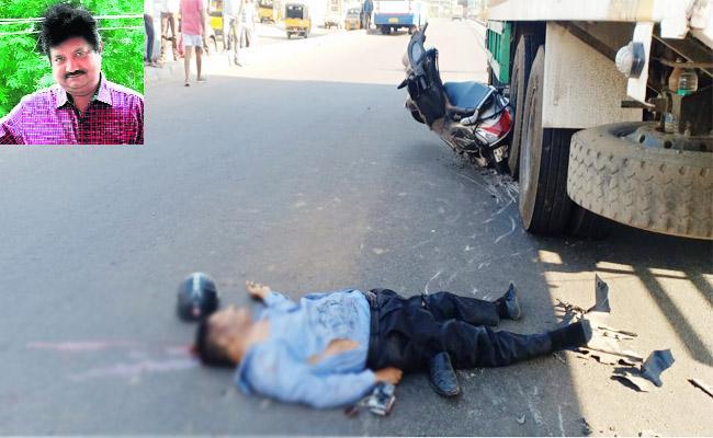 Doctor Died in Road Accident Visakhapatnam - Sakshi
