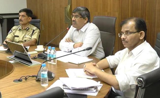 AP CS conduct video conference over Election counting process - Sakshi