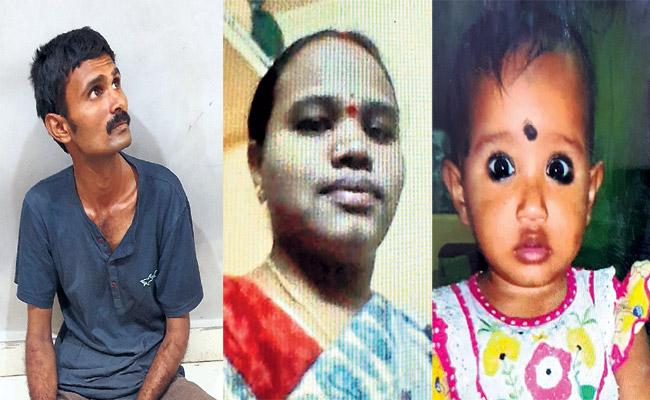 Mother Killed Girl Child And Commits Suicide Attempt in Hyderabad - Sakshi