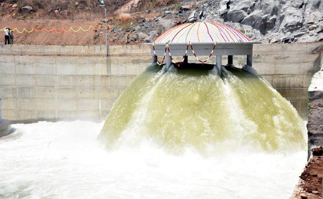 Kaleshwaram project Package Wet Run successful - Sakshi