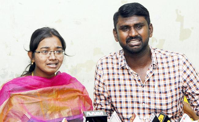 Lovers Complaint on Parents in Krishna - Sakshi