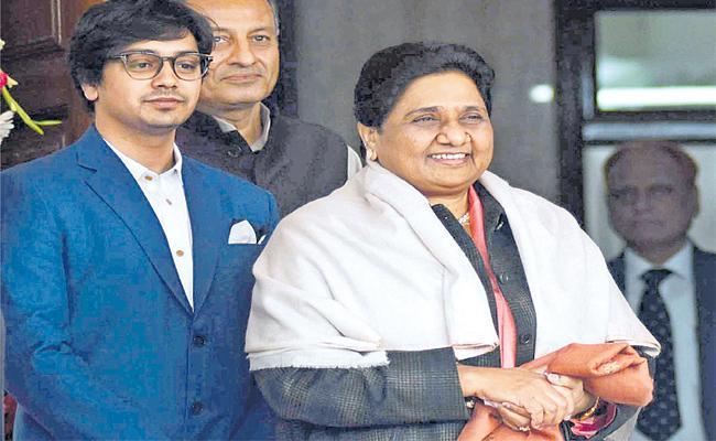 BSP Rising Star Akash Anand - Sakshi