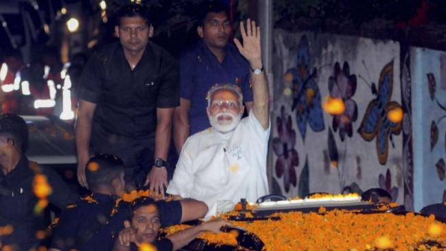 PM Modi Says Oppn Parties Have No Option But To Accept Defeat - Sakshi