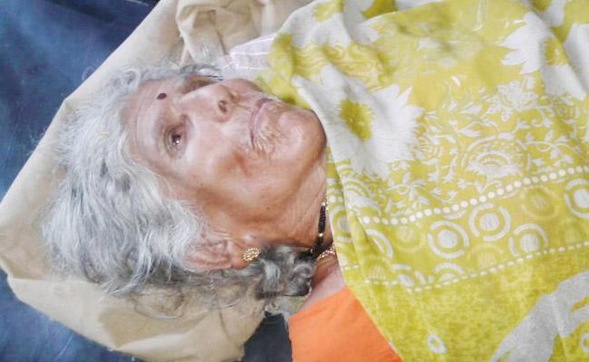 Grandson Attack on Grandmother in Chittoor - Sakshi