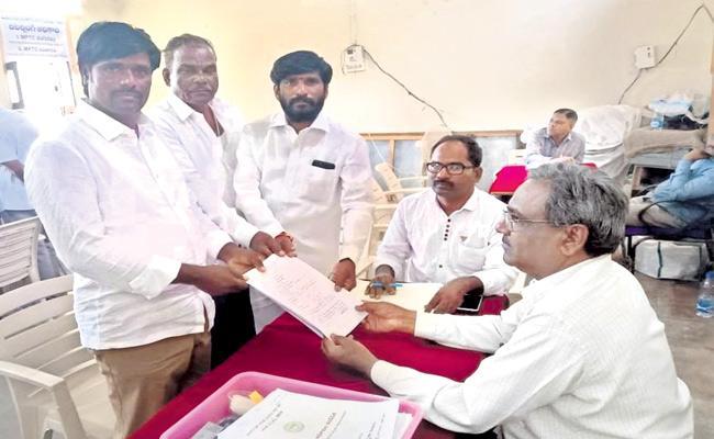 Telangana  ZPTC And MPTC Nominations - Sakshi