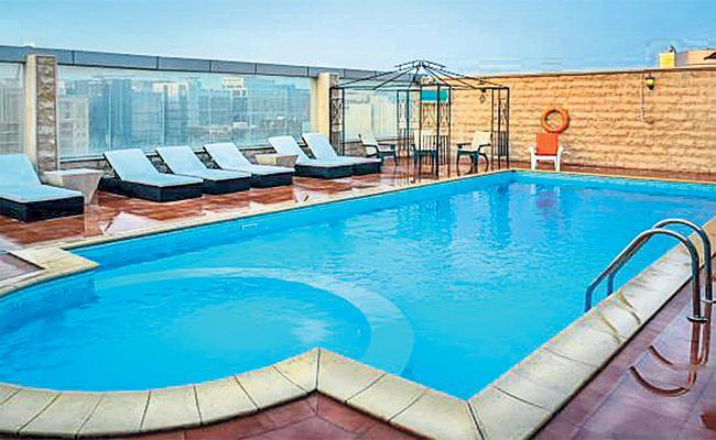 GHMC Allowed to Swimming Pool on Apartment Terrace - Sakshi