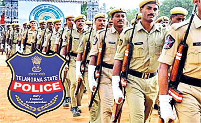 Promotions For Telangana Police Department - Sakshi