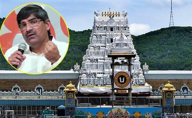 TTD Fails Transporting Srivari Gold Says APCS LV Subramanyam - Sakshi