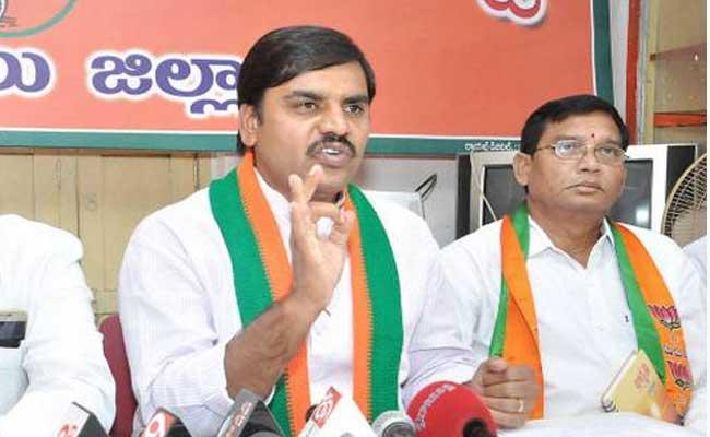 BJP Leader Vishnuvardhan Reddy Slams Chandrababu In Hyderabad - Sakshi