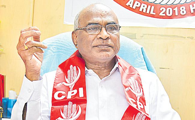 Chanda Venkatar Reddy Said that Democracy was in Danger - Sakshi