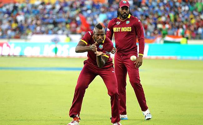 Chris Gayle, Andre Russell in West Indies 2019 World Cup squad - Sakshi