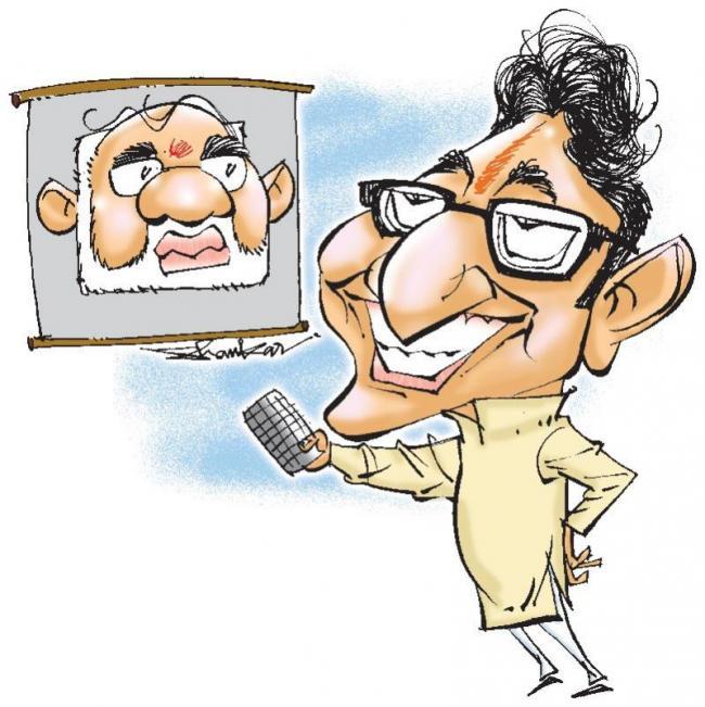 MNS chief Raj Thackeray against Narendra Modi in public meetings - Sakshi