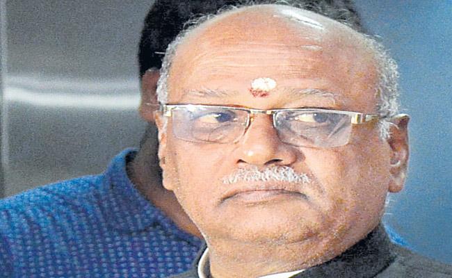 Minister MalLa Reddy Should take action Says Nagi reddy - Sakshi
