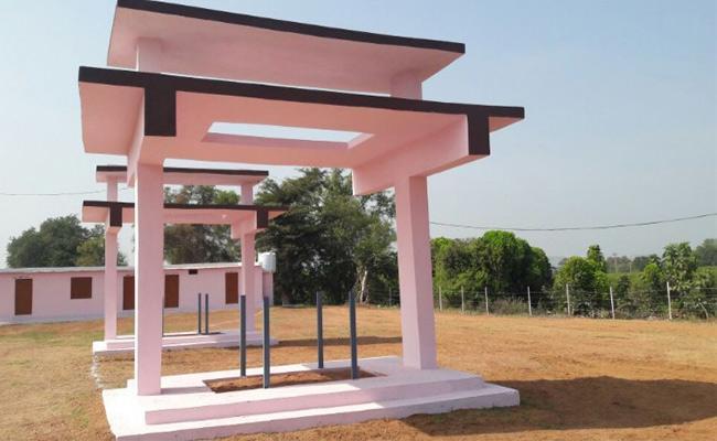 New Burial Grounds in Adilabad - Sakshi