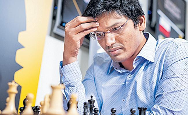 pentala harikrishna faced another draw - Sakshi