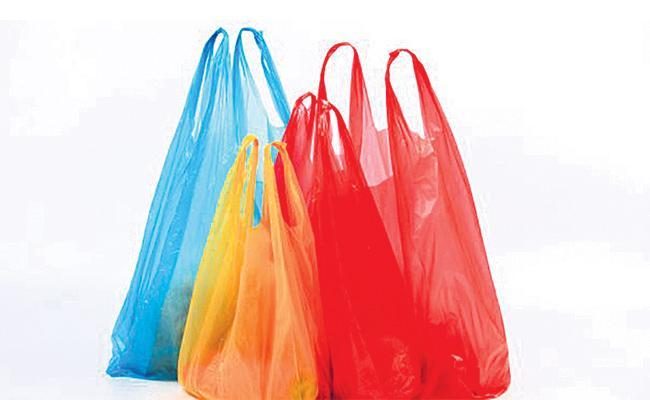 Officials Negligence on Plastic Ban - Sakshi