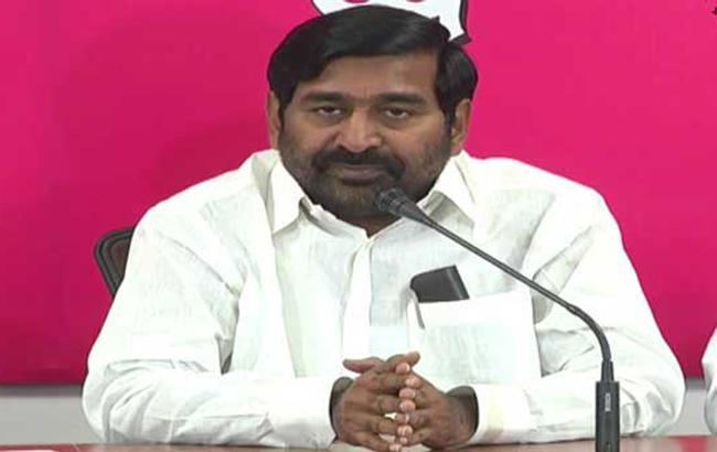 Minister Jagadish Reddy Slams Congress Party At Narketpally - Sakshi