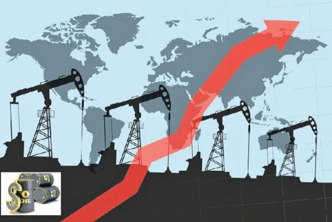 Global oil prices soar, India remains stable - Sakshi