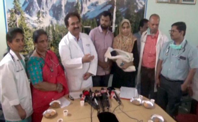 Gandhi Hospital Doctors Performed Delivery To Swine Flu Woman - Sakshi