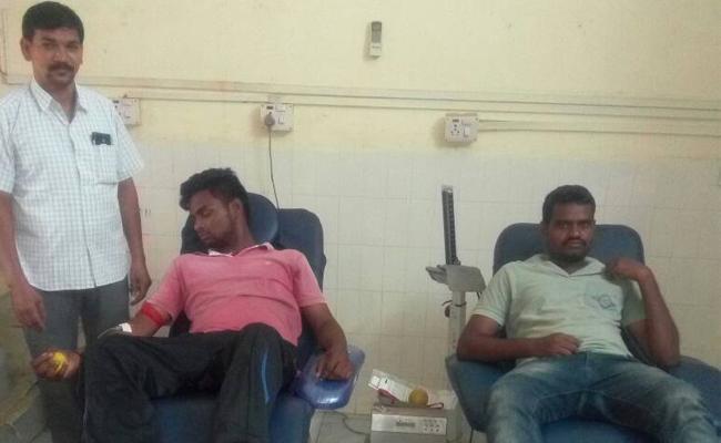 Blood Shortage in Vizianagaram Blood Banks - Sakshi