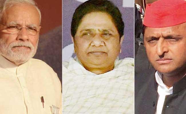 Fought Fighting In Uttar Pradesh Between BSP Alliance And BJP - Sakshi