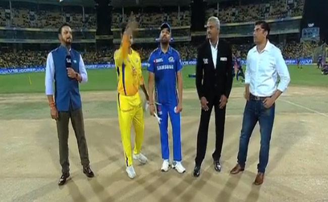 CSK Won The Toss And Elected to Field First Against Mumbai Indians - Sakshi