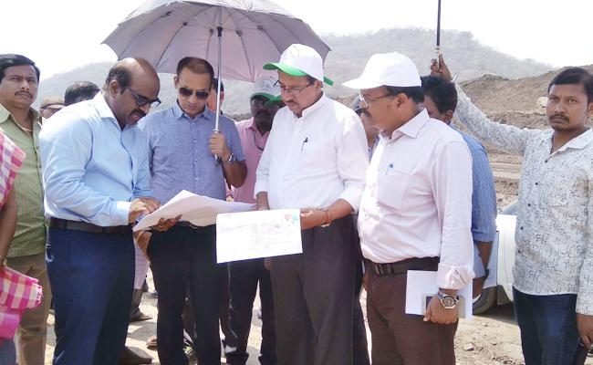 Review on Polavaram Dumping Yard - Sakshi