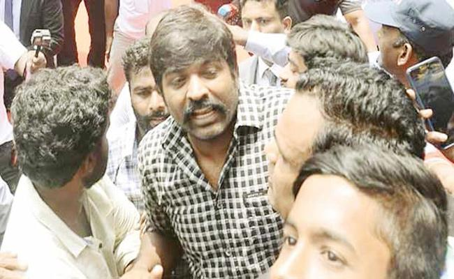 Vijay Sethupathi Opinion on Election - Sakshi