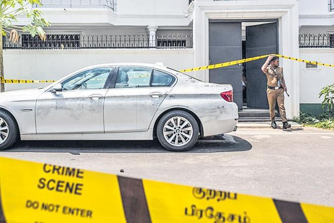 Sri Lanka Suicide Bombers Included Two Sons of a Spice Tycoon - Sakshi