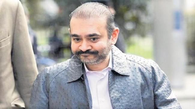 Nirav Modi's custody extended by another 28 days - Sakshi