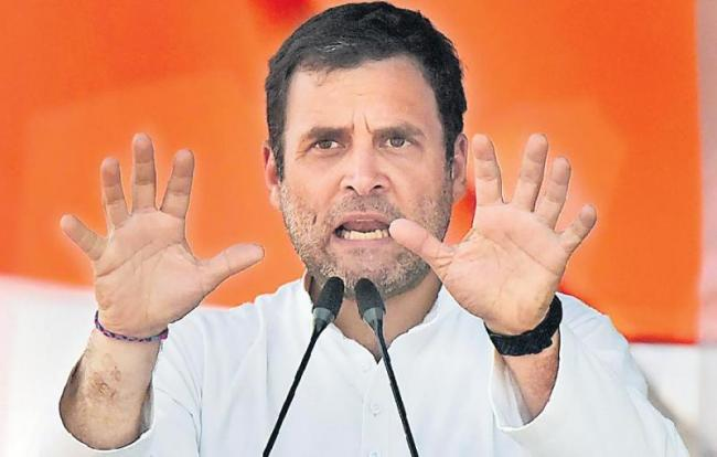 Rahul Gandhi Flight Engine Trouble - Sakshi