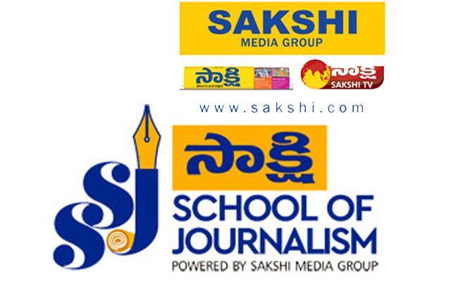 Sakshi School of Journalism SSJ 2019 Admission Notification