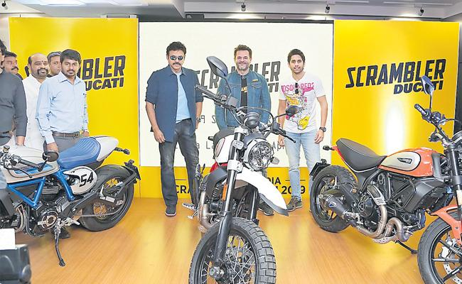 2019 Ducati Scrambler 800 range launched from Rs 7.89 lakh - Sakshi