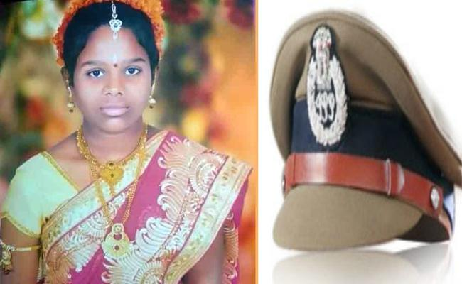 DCP Suspends Bommalaramaram SI Over Missing schoolgirl Murder Case - Sakshi