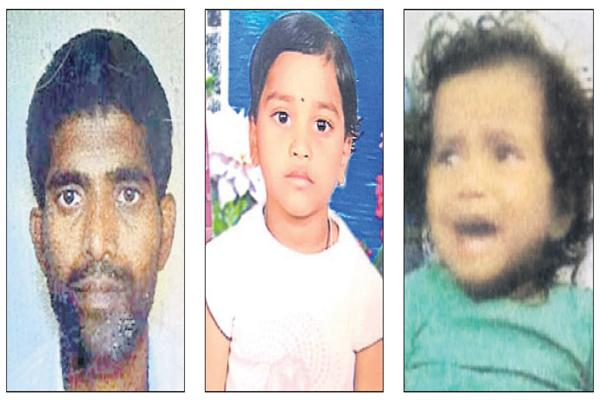 Father committed suicide after hanging his two daughters - Sakshi