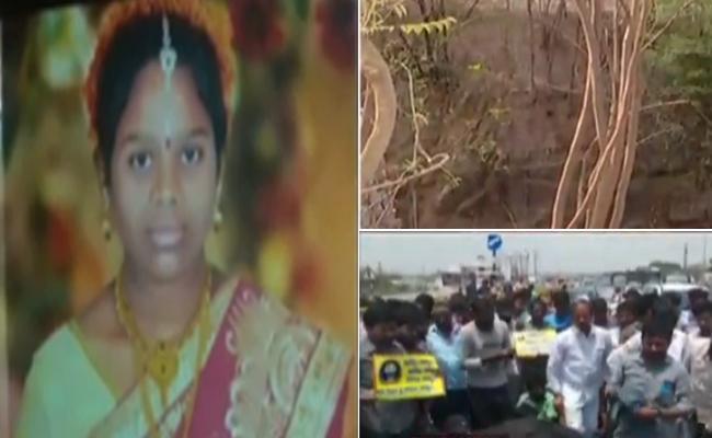 Post-mortem reveals Sravani was raped and murdered - Sakshi