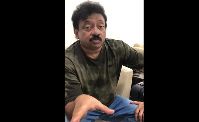 I am In police custody, says Ramgopal varma - Sakshi
