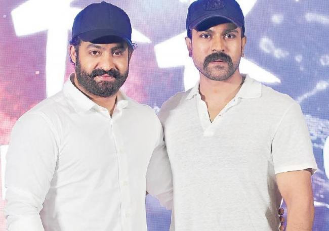 Ram Charan, Jr NTR gets injured on the sets of RRR - Sakshi
