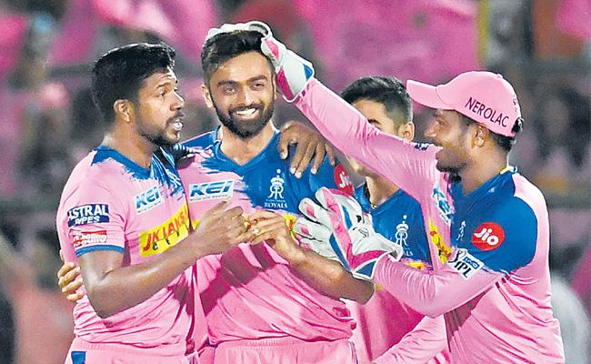 Rajasthan Royals crush Sunrisers Hyderabad to stay in playoffs hunt - Sakshi