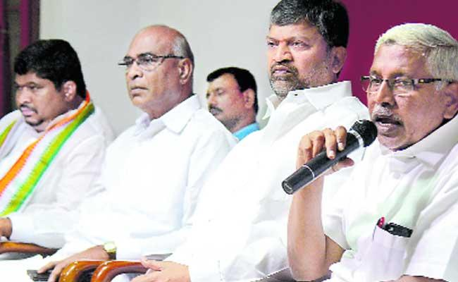 Opposition Parties Conduct Dharna On 29 Against Inter Results - Sakshi